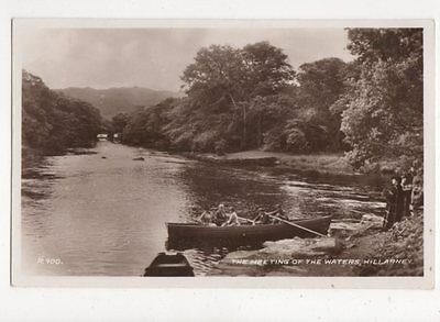The Meeting Of The Waters Killarney Ireland 1949 RP Postcard 422a