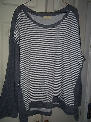 Woman's Bobby Brooks Long Sleeve Shirt Top Plus Size 3X