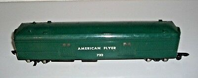 American Flyer Operating Baggage Car #732G