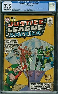 Justice League of America 4 CGC 7.5 - Green Arrow Joins