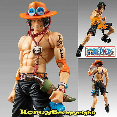 Japanese ONE PIECE VARIABLE Action HEROES Ver. Character ACE Statue Figure Toy