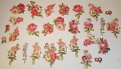 Anna Griffin Pretty Paintings Card Making 30 Flower Embellishments