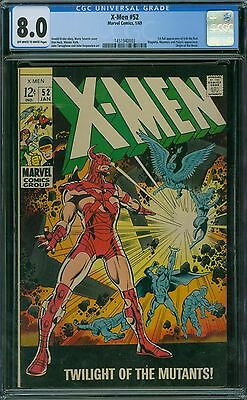 X-Men 52 CGC 8.0 - OW/W Pages