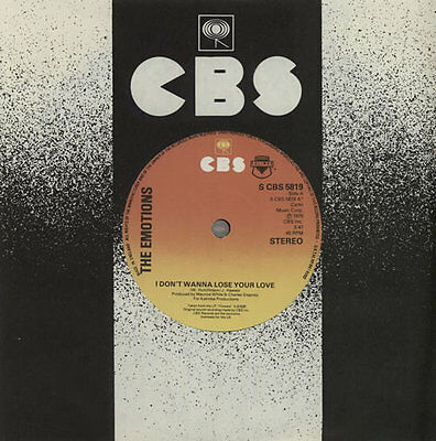 """Emotions (Soul) I Don't Wanna Lose Your Love 7"""" vinyl single record UK"""