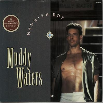 "Muddy Waters Mannish Boy UK 12"" vinyl single record (Maxi) MUDT1 EPIC 1988"