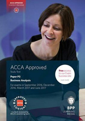 ACCA P3 Business Analysis: Study Text by BPP Learning Media Book The Cheap Fast