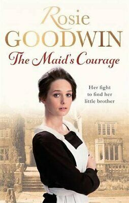 The Maid's Courage by Goodwin, Rosie Book The Cheap Fast Free Post