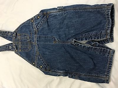 Baby Gap Boys Infant Jean Overalls Size 3-6 Months