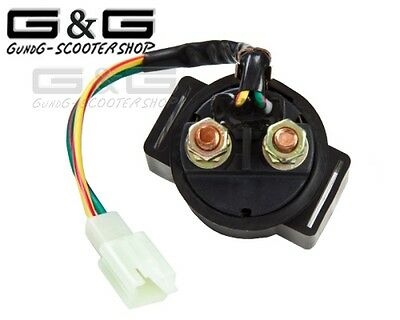 Universal Starter Relay Solenoid Motorcycle Quad ATV Scooter