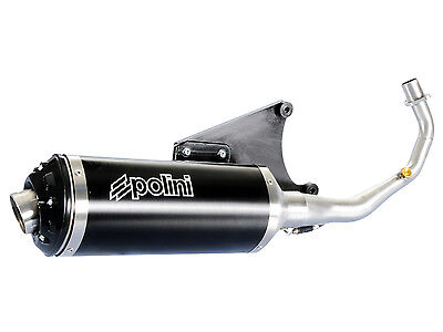 Exhaust Polini With E Characters for Vespa Primavera Sprint LX 125i 150i AIR 4T
