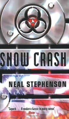 Snow Crash, Stephenson, Neal Paperback Book The Cheap Fast Free Post
