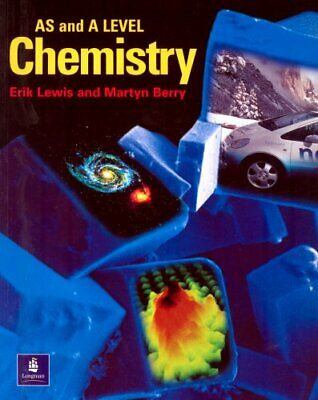 A Level Chemistry for AS and A2 by Lewis, Erik Paperback Book The Cheap Fast