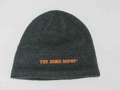 Home Depot Knit Gray Beanie Cap Unisex Hat Winter 1 Size