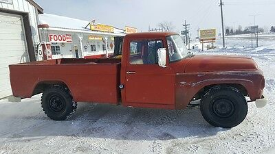 1967 International Harvester Other NA 1967 INTERNATIONAL HAVESTER HALF TON PICKUP HOIST