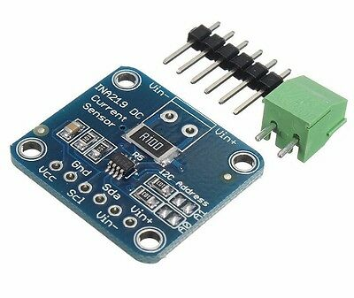 INA219 High Side DC Current Sensor Breakout I2C 26V ±3.2A Max - Arduino