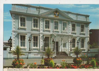 Mansion House Dublin Ireland John Hinde Postcard 425b