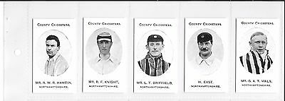 TADDY:COUNTY CRICKETERS - NORTHAMPTONSHIRE: Nostalgia Reprint: #06