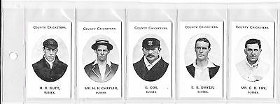 TADDY:COUNTY CRICKETERS - SUSSEX: Nostalgia Reprint: #07