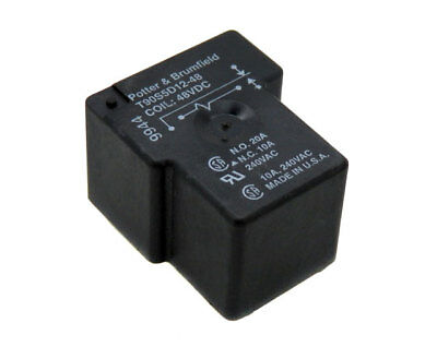 NEW Potter & Brumfield 20A 48V SPDT 1 General Purpose Relay T90S5D12-48