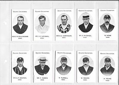 TADDY:COUNTY CRICKETERS - ESSEX: Nostalgia Reprint: #08