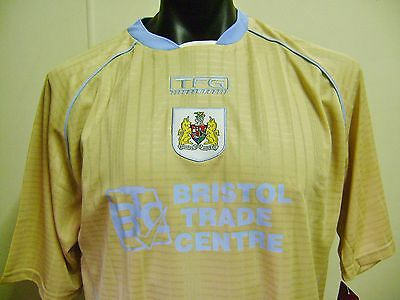 Bristol City Fc Official 2006 Away Jersey Adults Mens Large New Rare