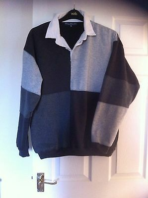 Mainstream Mens Rugby Shirt Size Large