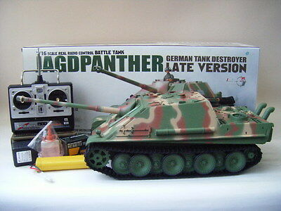 Henglong 1/16 R/C S&S Camo Jagdpanther (Super Version)--fast shipping