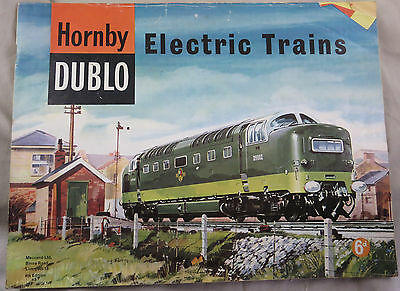 Hornby Dublo Electric Trains 4th Edition  Catalogue