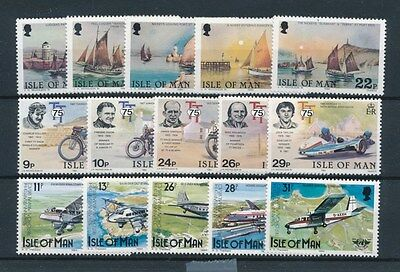 [87608] Isle of Man Transportation good lot Very Fine MNH stamps