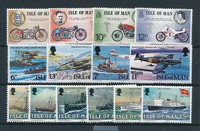 [87609] Isle of Man Transportation good lot Very Fine MNH stamps