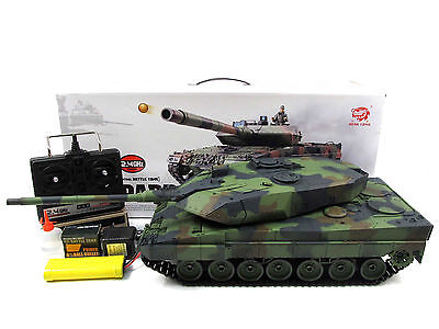 HengLong 1/16 R/C S&S German Leopard 2A6 Tank (Super Version 2.4G)--fast shippin