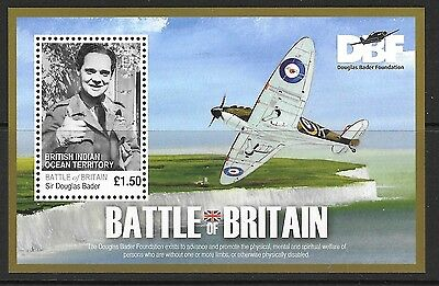 British Indian Ocean Terr Sgms437 2010 Battle Of Britain    Mnh
