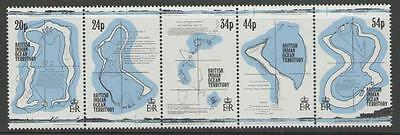 BRITISH INDIAN OCEAN TERR SG147a 1994 18th CENTURY MAPS MNH