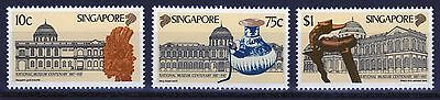 Singapore set of stamps to celebrate Centenary of National Museum.