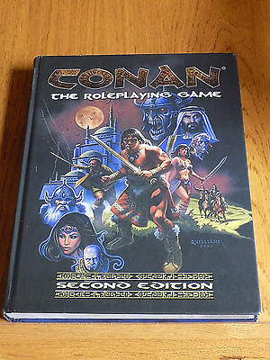 Conan RPG - The Roleplaying Game Rulebook - Mongoose - Second Edition