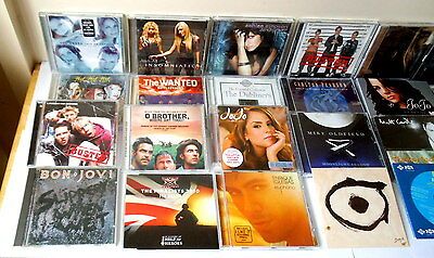 Job Lot Of 25 Various Cd's