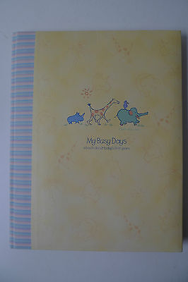 Carters GIBSON LENNON baby RECORD BABY BOOK MEMORY MY BUSY DAYS REAL LOVE YELLOW