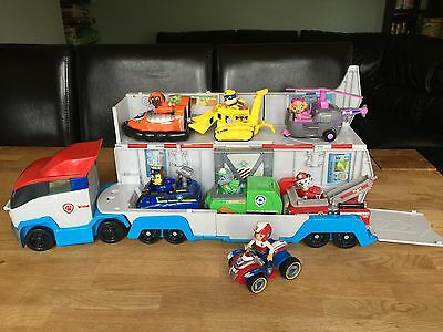 Paw Patrol Patroller Vehicle Plus All The Pups And Vehicles.