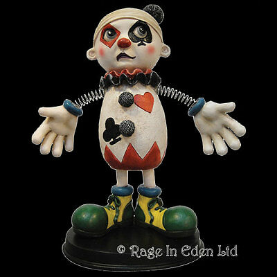 *ZANY* Gothic Fantasy Art Bobble-Armed Clown Jester Figurine By Nemesis Now 22cm