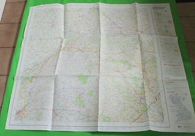 Ordnance Survey Map Okehampton And North Dartmoor Ministry Of Defence 1974