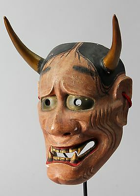 Japanese Noh Mask depicting Hannya character s H86