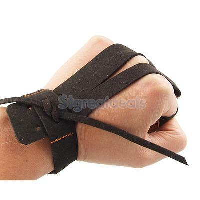 ARCHERS ARCHERY 3 FINGERS GLOVE Left & Right Hand Longbow Protective Guard