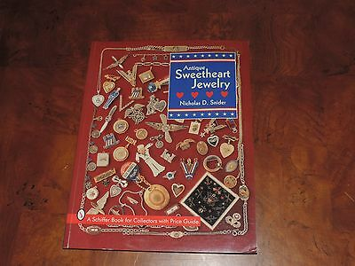 Antique Military Sweetheart Jewelry Price Guide Collector's Book (e327)