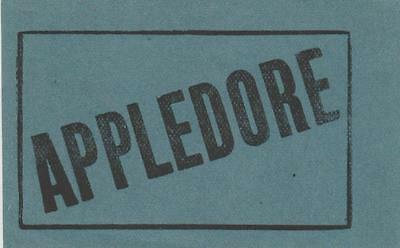 South Eastern & Chatham Railway Luggage Label APPLEDORE