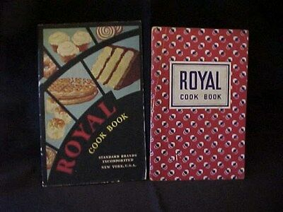2 Old Soft Cover Advertising Cook Books/Royal Baking Powder / 1932 & 1937