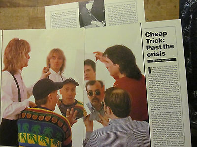 Cheap Trick, Three Page Vintage Clipping