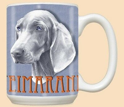 15 oz. Ceramic Mug (PS) - Weimaraner MU882