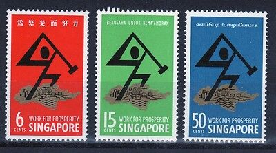 Singapore set of stamps to celebrate National Day.