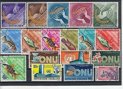 K 49833/ Afrika Lot / Mixture gest / used Togo