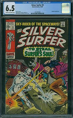 Silver Surfer 9 CGC 6.5